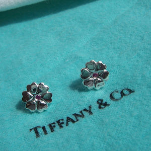 Tiffany & Co. P. Picasso Crown of Hearts Earrings